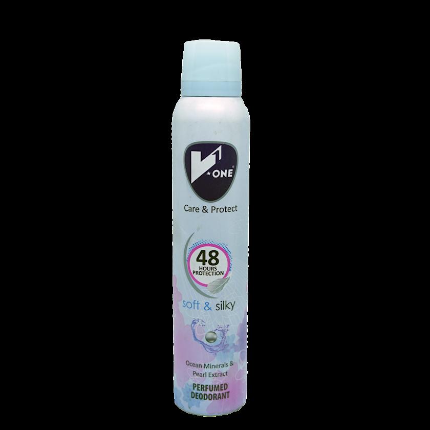 Dezodorant-sprey Soft & Silky, V1 200 ml