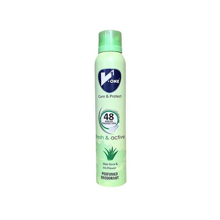 Dezodorant Fresh Active, V1 200 ml