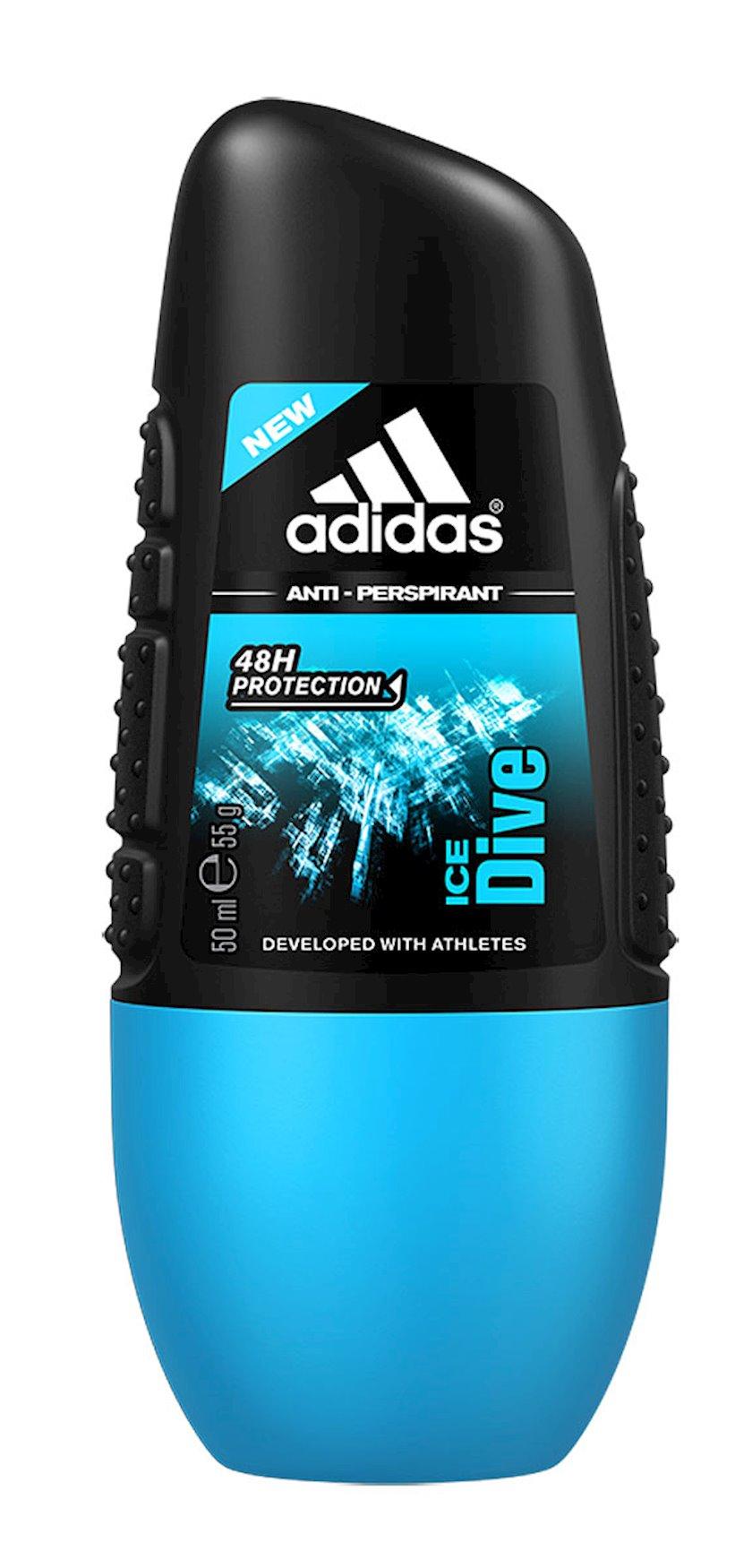 Dezodorant-antiperspirant diyircəkli Аdidas Ice Dive