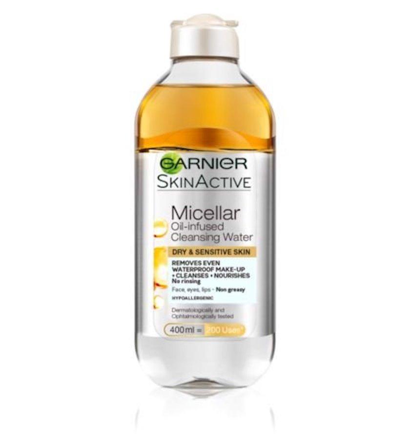 """Misselyar su Garnier """"Skin Naturals"""", yağlar ilə, 400ml"""