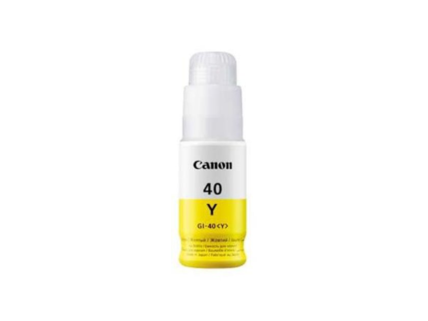 Toner-kartric Canon INK GI-40 Y