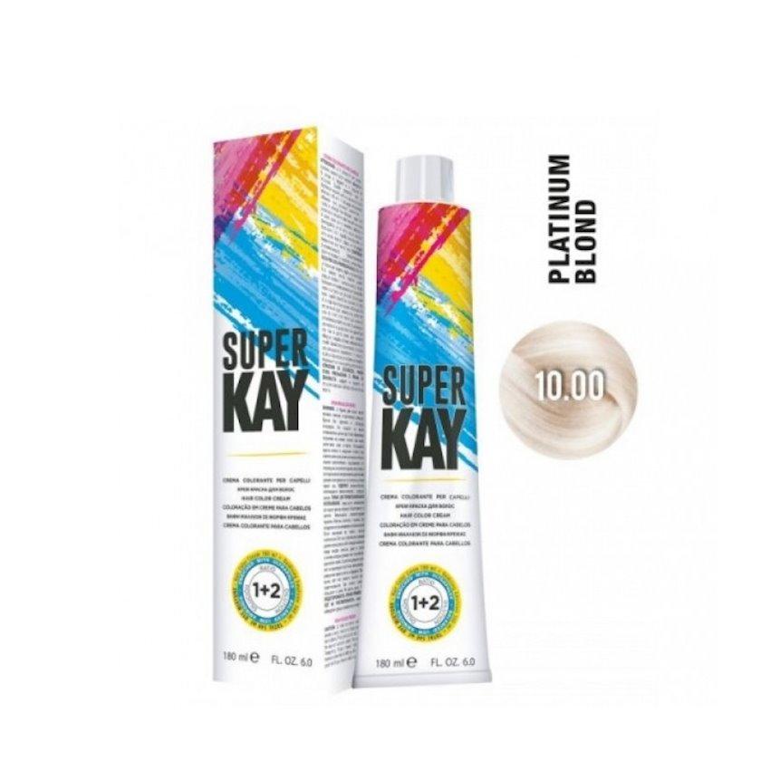 """Saç üçün krem-boya KayPro """"Super Kay"""" 10.00 platin sarışın, 180 ml"""