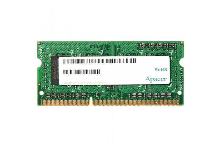 Noutbuk üçün operativ yaddaş Apacer DDR3 8GB 1600 MHz, AS08GFA60CATBGC