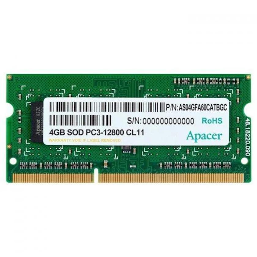 Noutbuk üçün operativ yaddaş Apacer DDR3 4GB 1600 MHz, AS04GFA60CATBGC