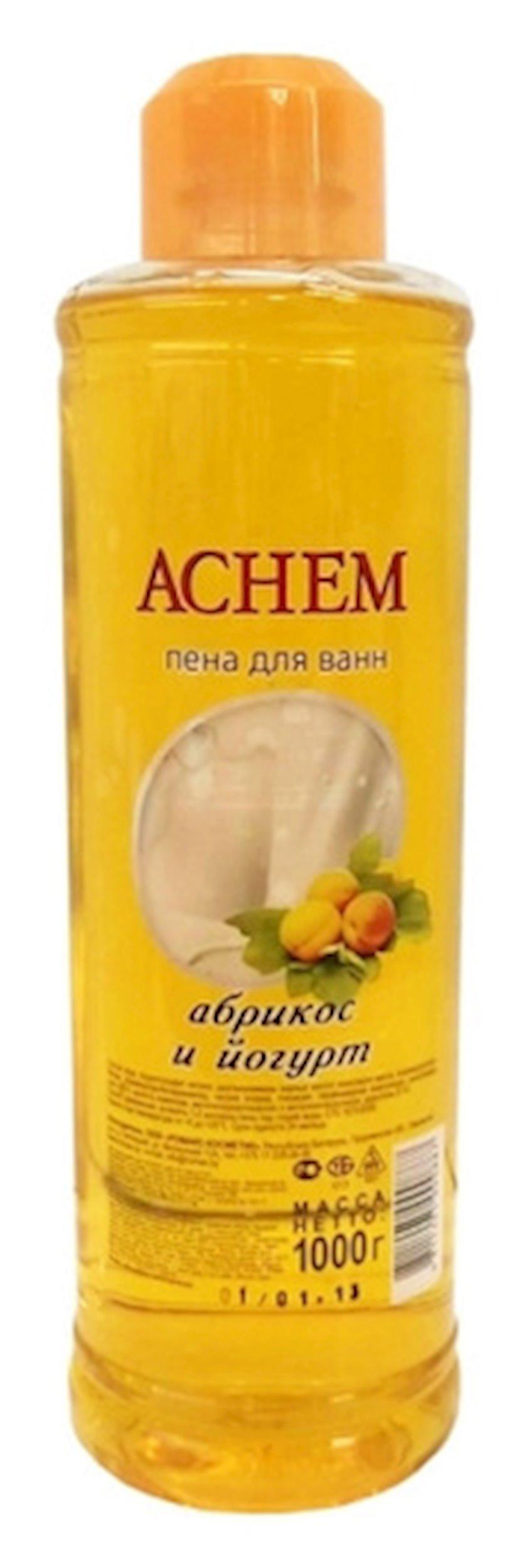 """Vanna üçün köpük  Romax """"Achem"""" Ərik və yoqurt 1000 ml"""