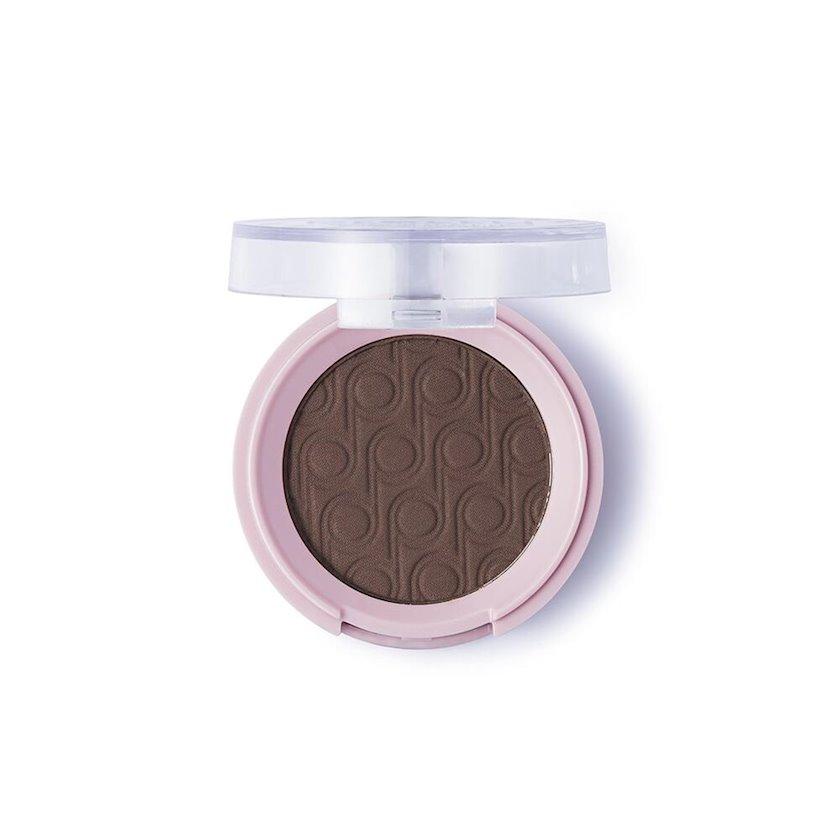Tək mat göz kölgəsi Flormar Pretty Single Matte Eyeshadow Warm Brown 3.5q