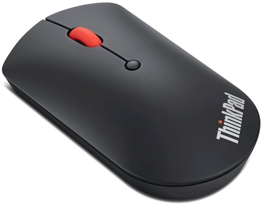 Kompüter siçanı Lenovo Thinkbook BT Silent Mouse Black