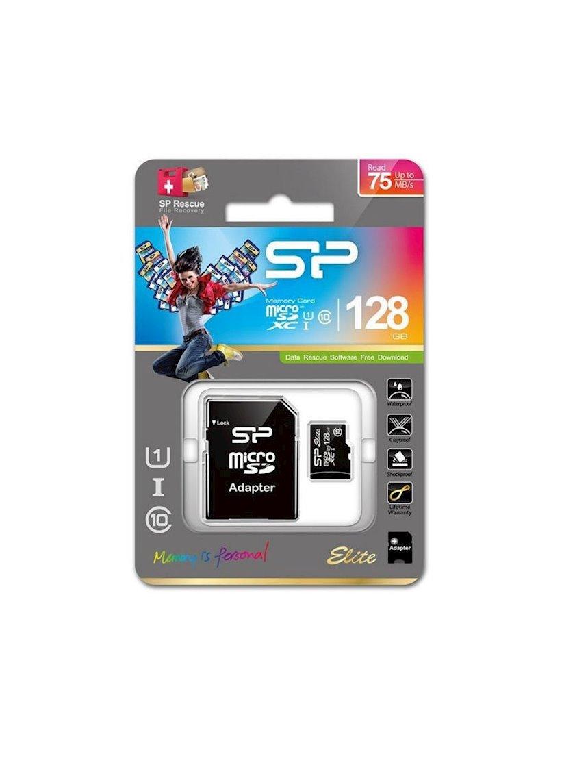 Yaddaş kartı Silicon Power Elite microSDXC 128 GB