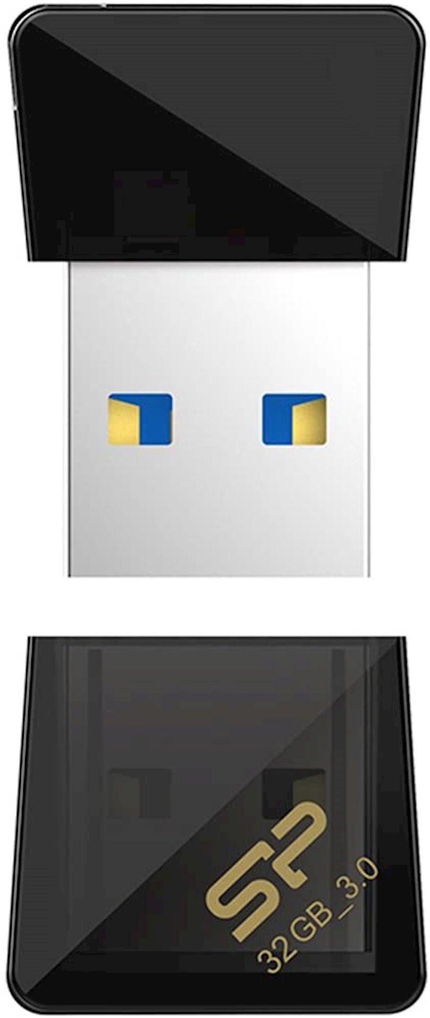 Fleş kart USB Silicon-Power Jewel J08 Black 32 Gb