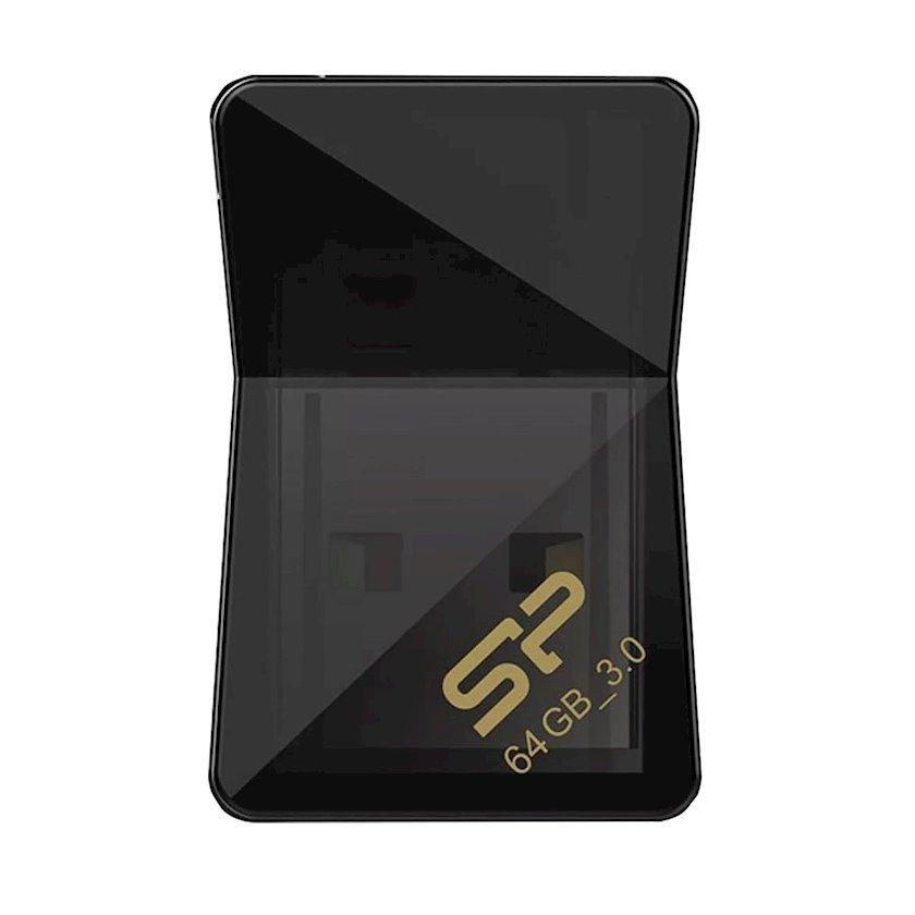 Fleş kart USB Silicon-Power Jewel J08 Black 64 Gb