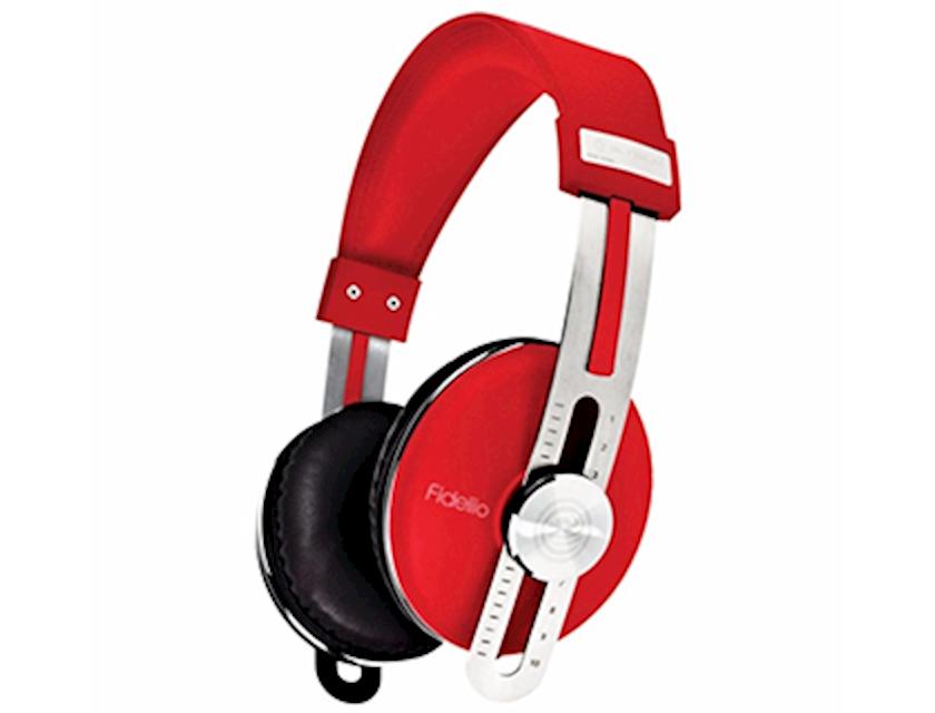Simsiz qulaqlıq-qarnitur SonicGear Headphone Elysium Fideliio Crimson Red