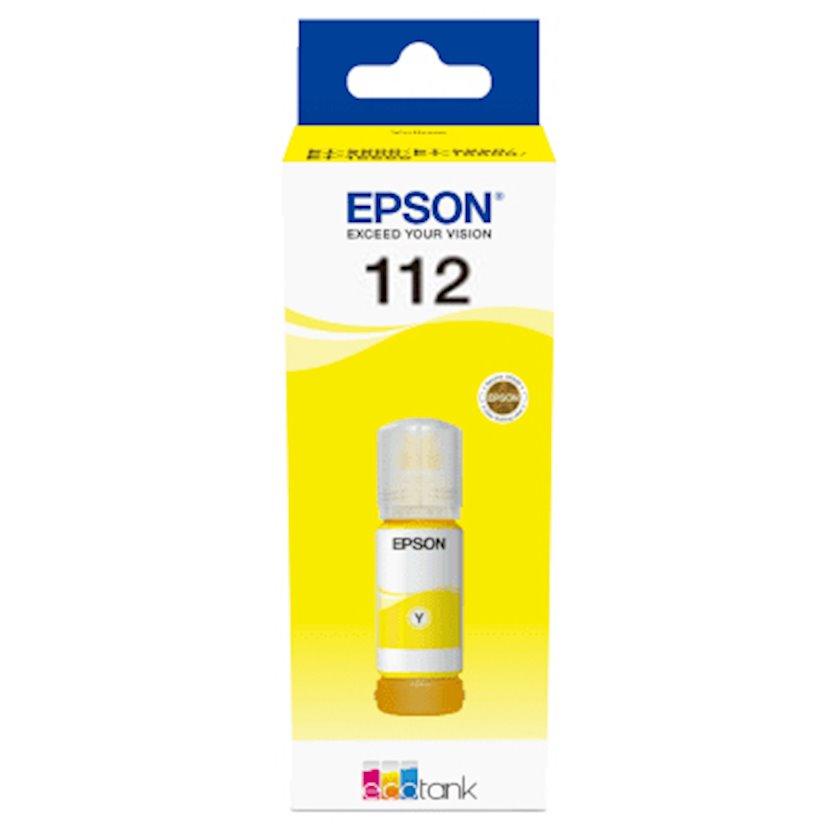 Mürəkkəb konteyneri Epson 112 Yellow Ink Bottle