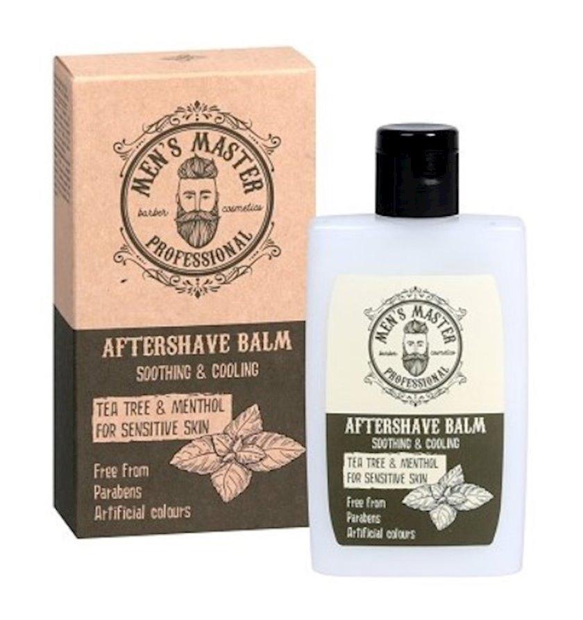 Təraşdan sonra balzam MENS MASTER Professional Soothing & Cooling Aftershave Balm 120ml