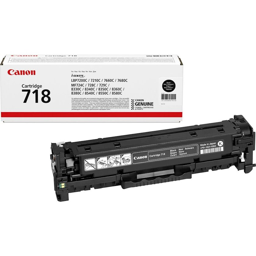Kartric Canon 718 Black