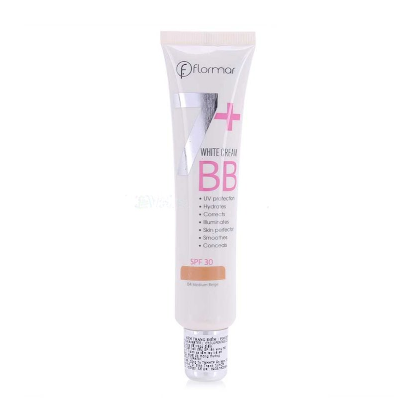 BB krem BB White Cream With SPF 30 04 Medium Beige 40 ml