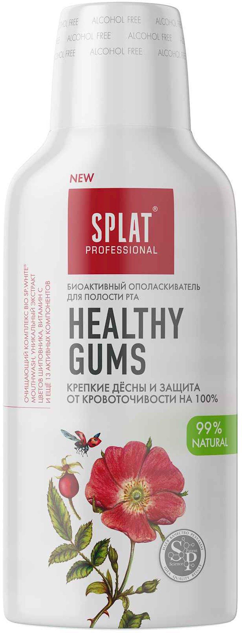 Ağız boşluğu üçün yaxalayıcı Splat Healthy Gums 275 ml