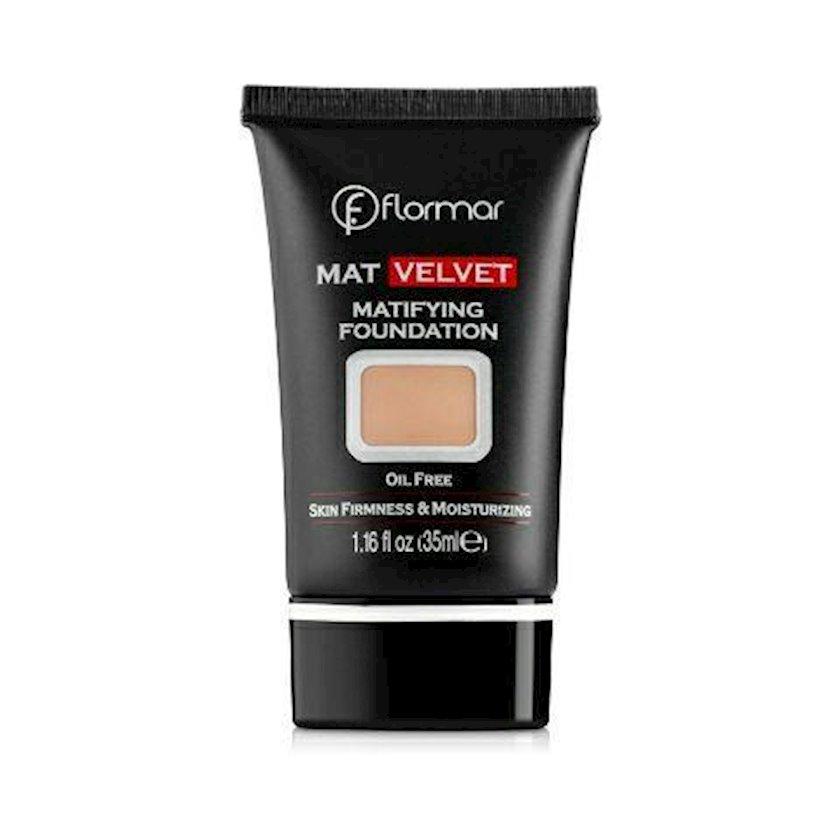 Tonal krem Flormar Mat Velvet Matifying Foundation V204 natural beige, 35 ml
