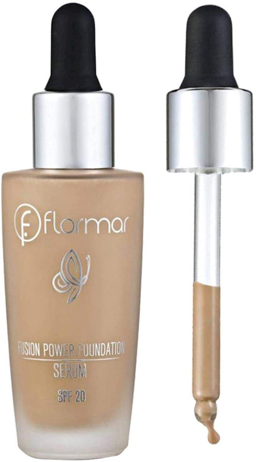 Tonal baza Flormar Fusion Power Foundation Serum SF16 beige, 30 ml