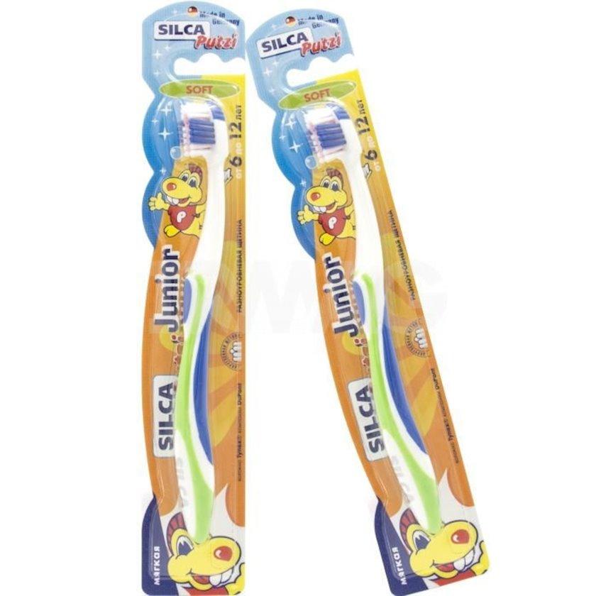 Diş fırçası yumşaq Silca Putzi Junior 6-dan 12 yaşa qədər Silca Putzi