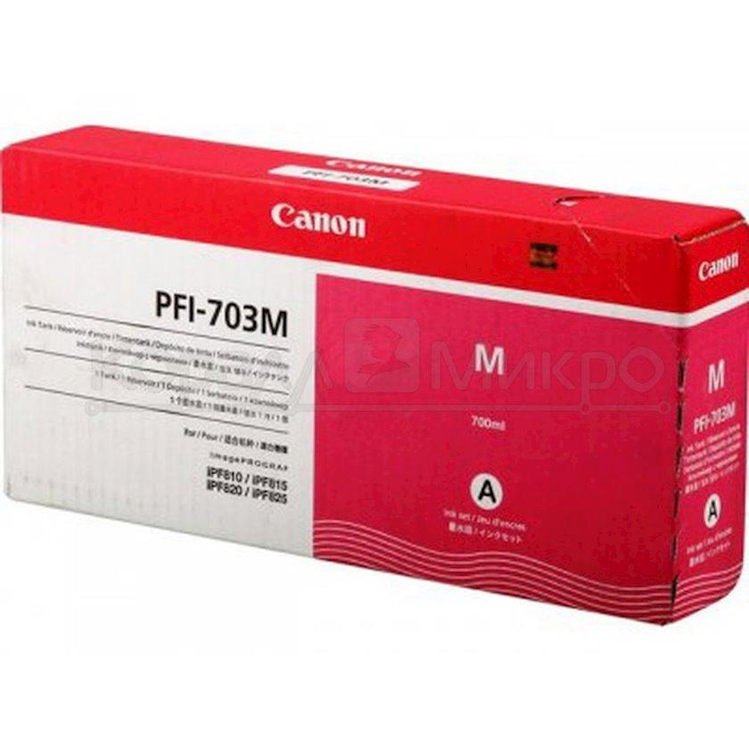 Mürəkkəb konteyneri Canon PFI703 Magenta