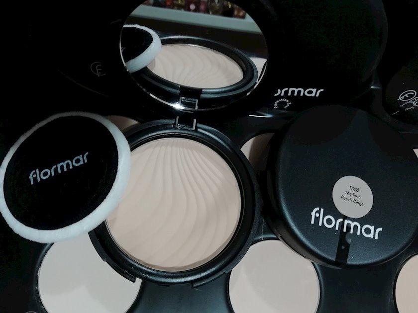 Kompakt kirşan Flormar Compact Powder №88 Medium Peach Beige 11 gr