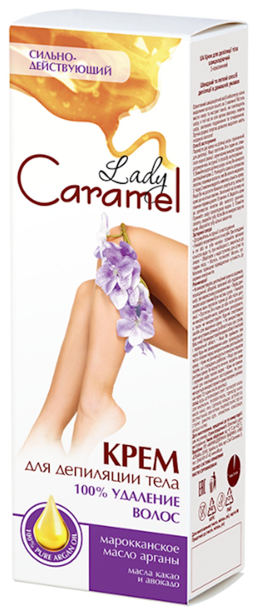 Krem Caramel depilyasiya üçün 100% təmizləmə, 100 ml