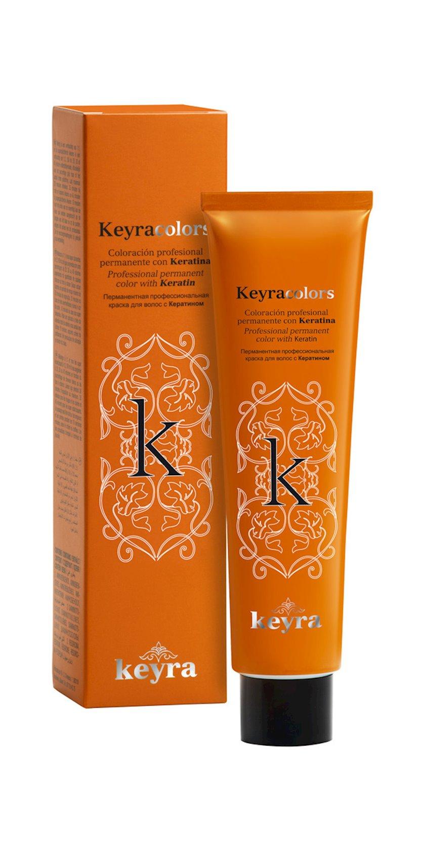 Krem-boya saç üçün Keyra Colors 7.43 Sarışın mis-qızılı 100 ml