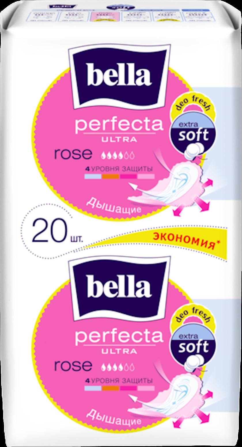 Qadın bezləri Bella Perfecta Rose Deo Fresh Soft Ultra 10+10 əd