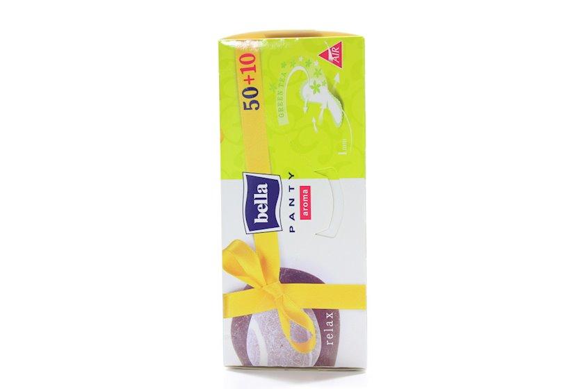 Gündəlik gigiyenik bezlər Bella Panty Aroma Relax 50+10 əd