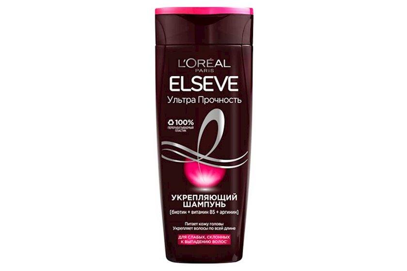 Saç üçün şampun L'Oréal Paris Elseve Ultra möhkəmləndirici, 400 ml