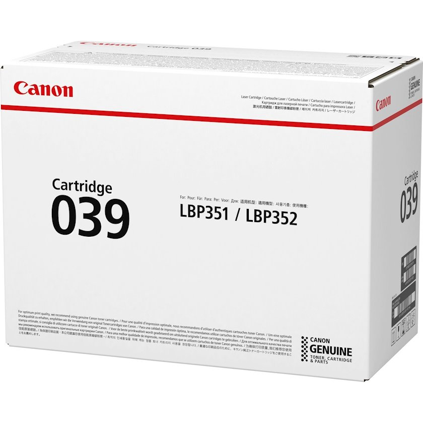 Toner-kartric Canon CRG-039 Black