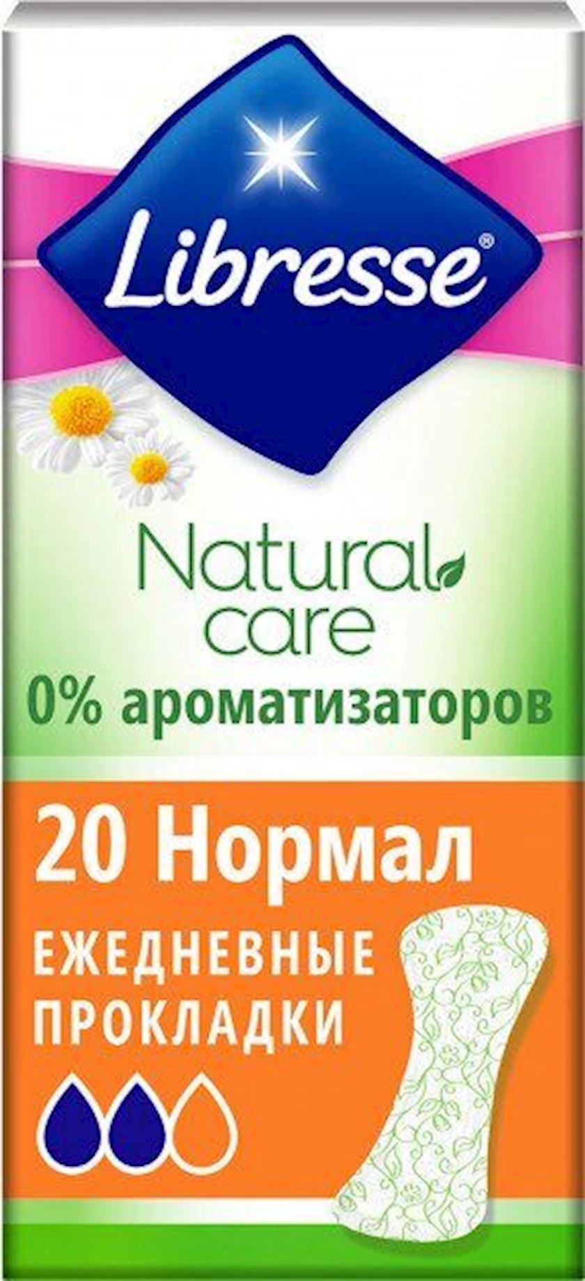 Gündəlik bezlər Libresse Natural Care, 20 əd.