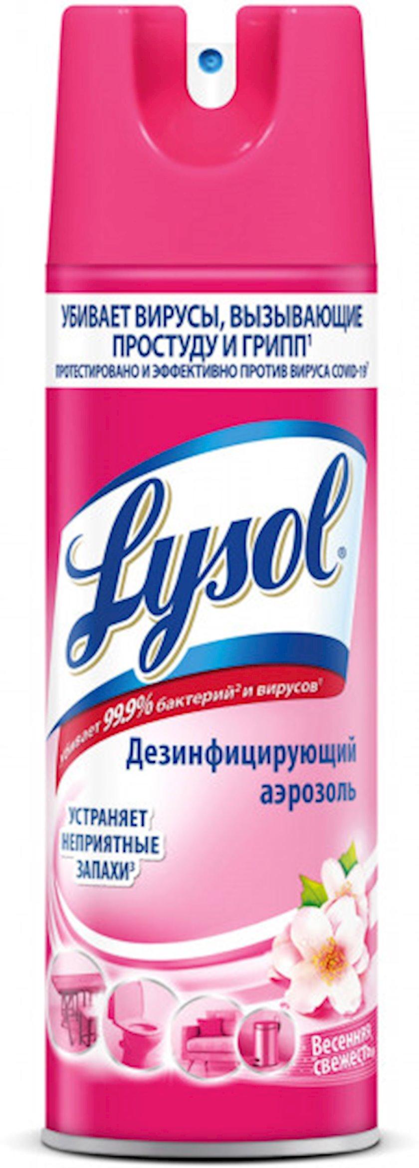 Səthin dezinfeksiyası üçün sprey Lysol Yaz təravəti 400 ml