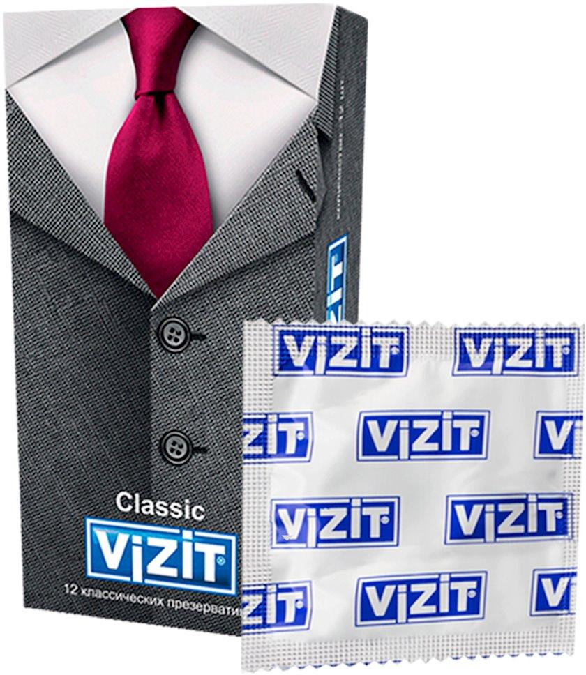 Prezervativlər Vizit Classic 12 əd