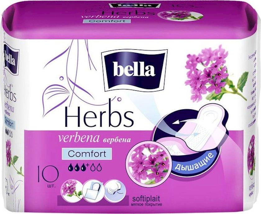 Gigiyenik bez Bella Herbs Verbena Comfort , 10 ədəd