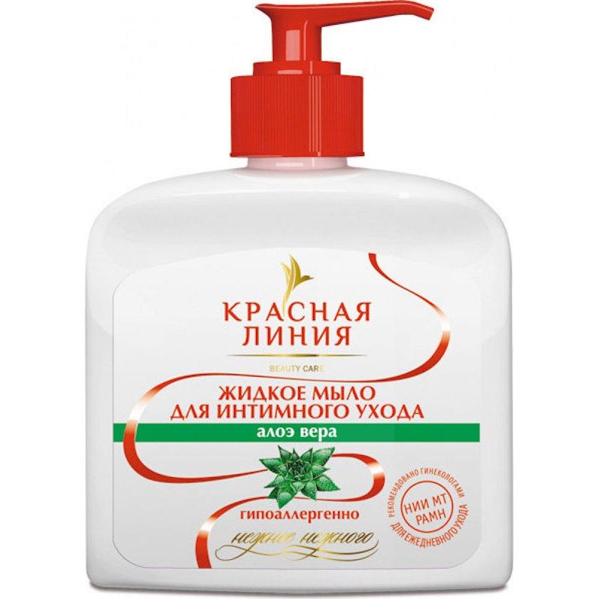 """İntim gigiyena üçün maye sabun """"Красная Линия"""" Aloe vera 250 ml"""