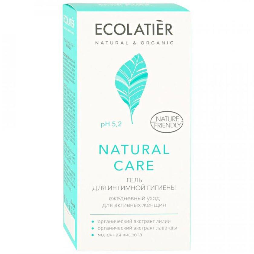 İntim gigiyena üçün gel Ecolatier Natural Care Gündəlik qulluq 250 ml