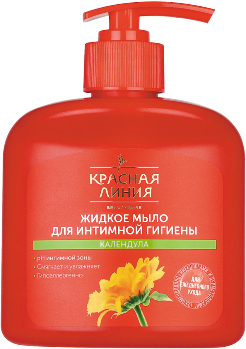 "İntim gigiyena üçün maye sabun ""Красная Линия"" Kalendula 250 ml"