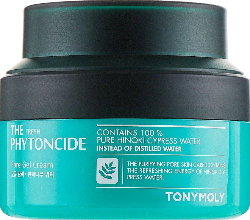Yağlı və qarışıq dəri üçün krem-gel Tony Moly The Fresh Phytoncide Pore Gel Cream, 60 ml