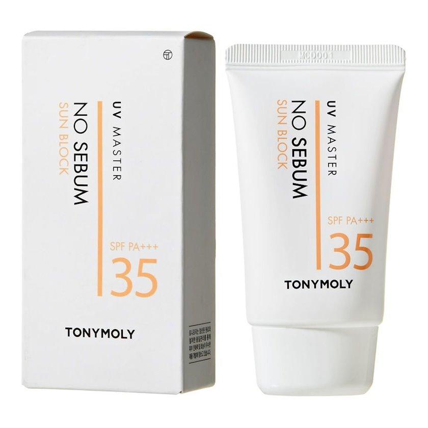 Günəşdən qoruyucu krem Tony Moly UV Master No Sebum Sun Block SPF35 PA+++ 50 ml