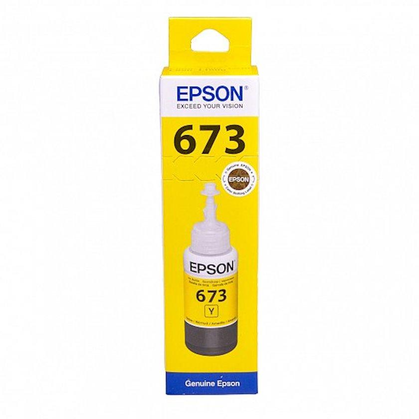 Mürəkkəb konteyneri Epson L800 Yellow ink bottle 70ml