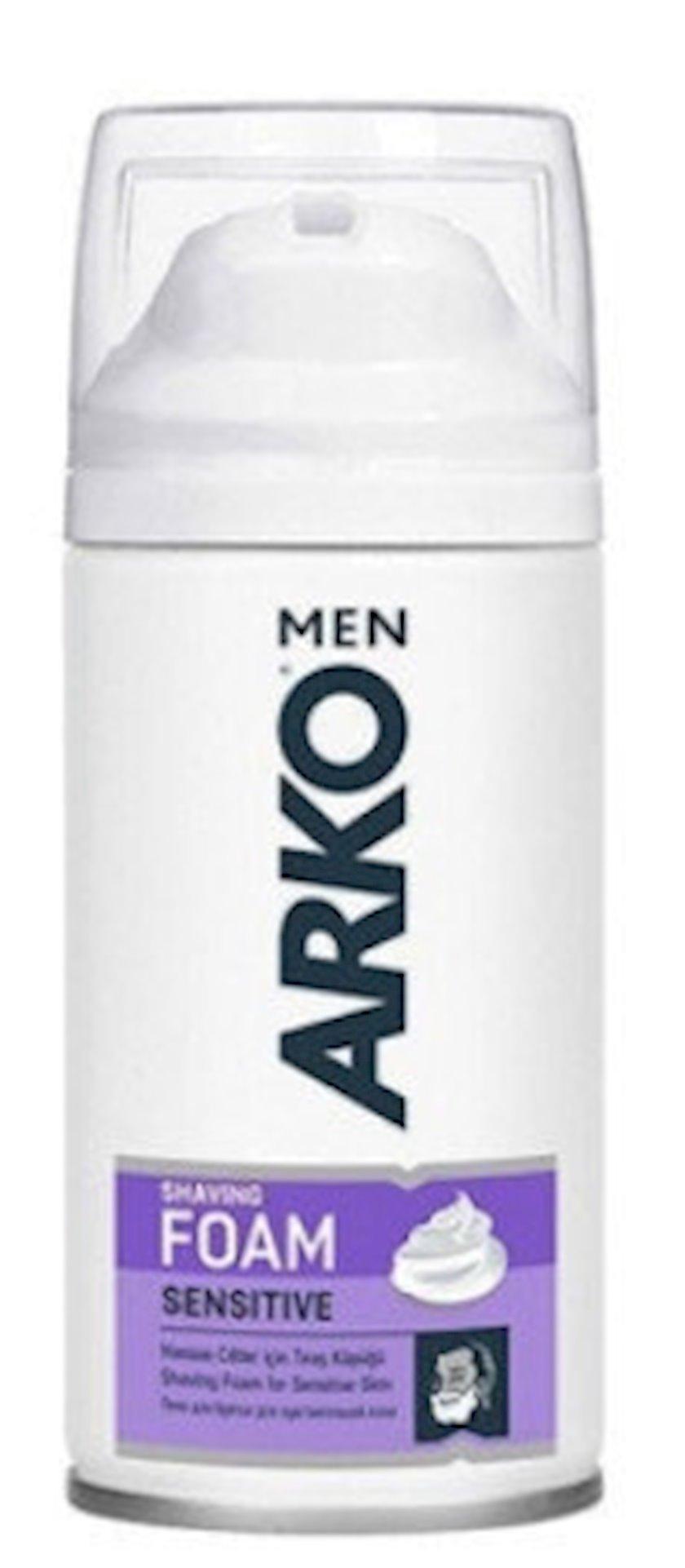 Təraş köpüyü Arko Sensitive , 100 ml