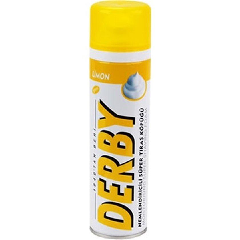Təraş köpüyü Derby Limon, 200ml