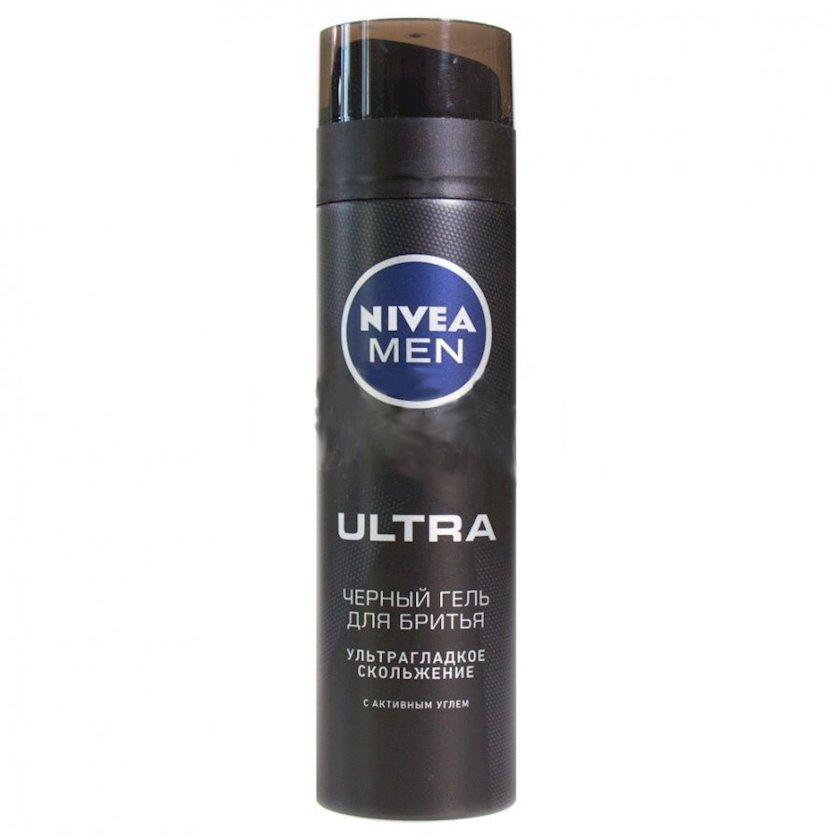 Təraş geli Nivea  Ultra, qara, 200 ml