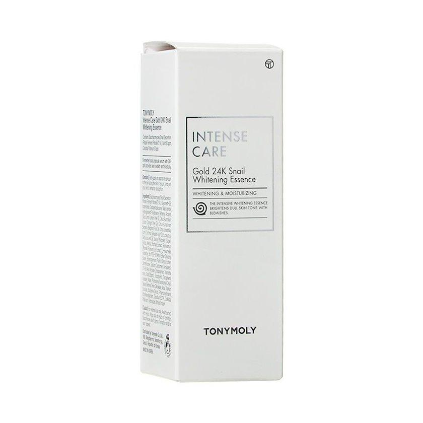 Üz üçün esensiya Tony Moly Intense Care Gold 24K Snail Whitening Essence 35 ml