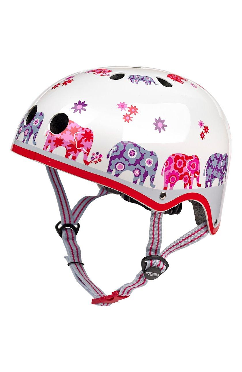 Qoruyucu dəbilqə qızlar üçün Micro Helmet Elephant, 4+ yaş, S ölçü 48-53 sm
