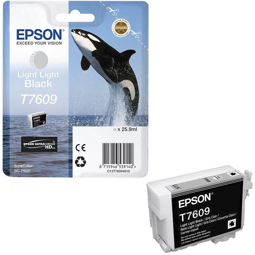 Kartric Epson T760 SC-P600 Light Light Black