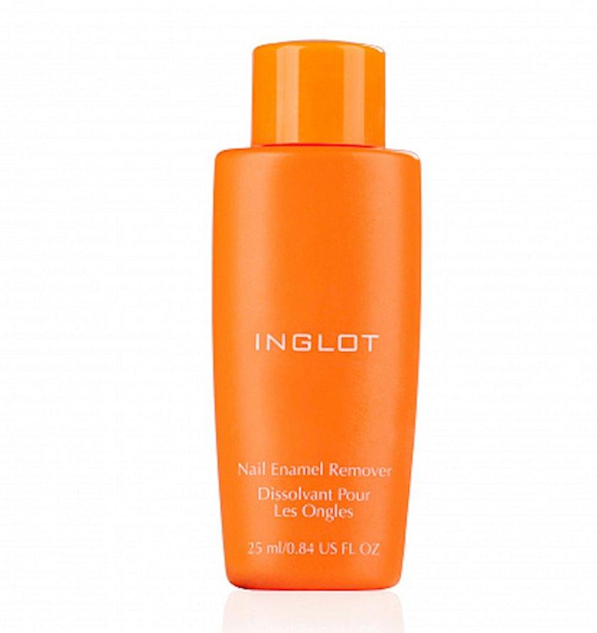 Lakı silmək üçün vasitə Inglot Aseton Nail Enamel Remover 25 ml