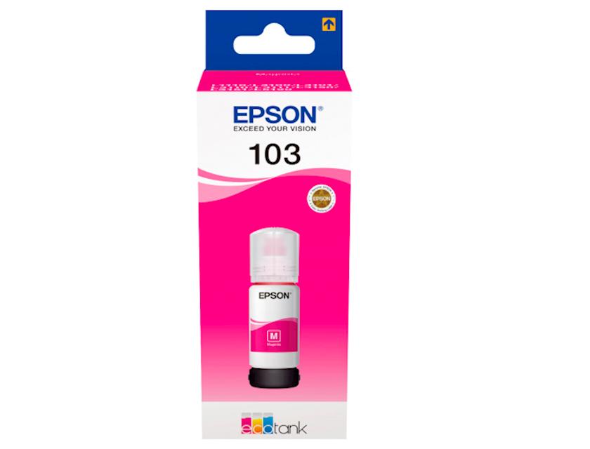 Mürəkkəb konteyneri Epson 103 EcoTank Magenta ink bottle
