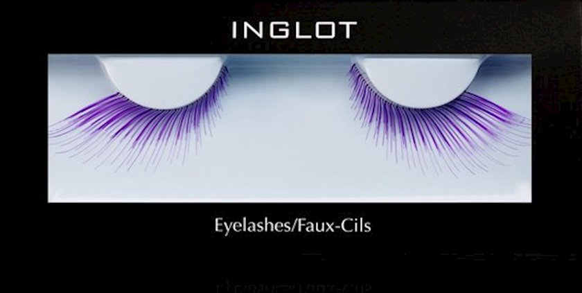 Süni kirpiklər Inglot Eyelashes 68S